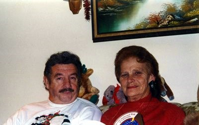 Bob and Olga Christmas 1996. Bob commented on 2/5/2014 that he liked this photo.