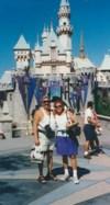 Robert and Olga at Disneyland about 1999
