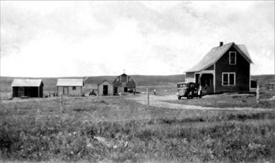 The old Johnson Farm.
