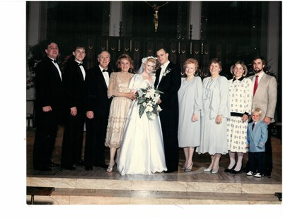"""""""Mom and Pat and Jill's Wedding"""""""
