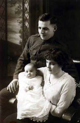 Peter and Anna Voss with daughter, Jane